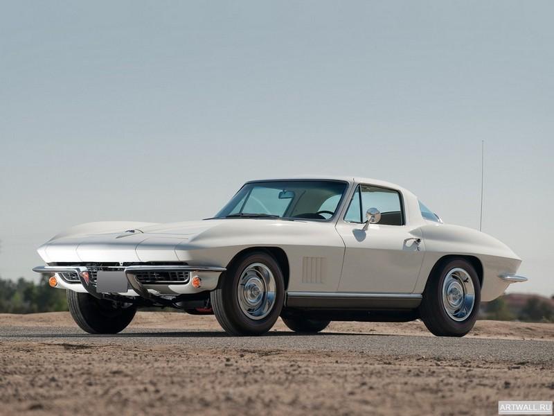 Постер Corvette Sting Ray (C2) 1967, 27x20 см, на бумагеCorvette<br>Постер на холсте или бумаге. Любого нужного вам размера. В раме или без. Подвес в комплекте. Трехслойная надежная упаковка. Доставим в любую точку России. Вам осталось только повесить картину на стену!<br>