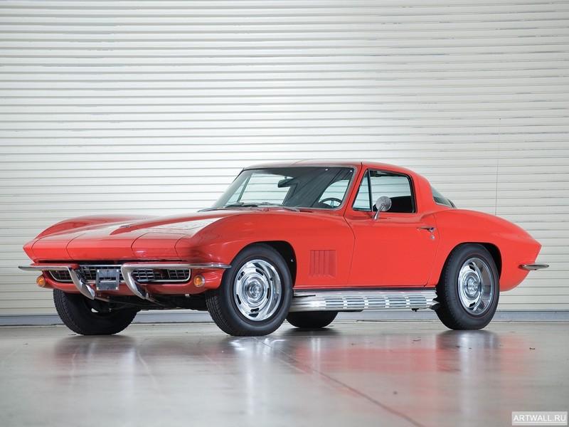 Постер Corvette Sting Ray 327 L79 Convertible (C2) 1967, 27x20 см, на бумагеCorvette<br>Постер на холсте или бумаге. Любого нужного вам размера. В раме или без. Подвес в комплекте. Трехслойная надежная упаковка. Доставим в любую точку России. Вам осталось только повесить картину на стену!<br>