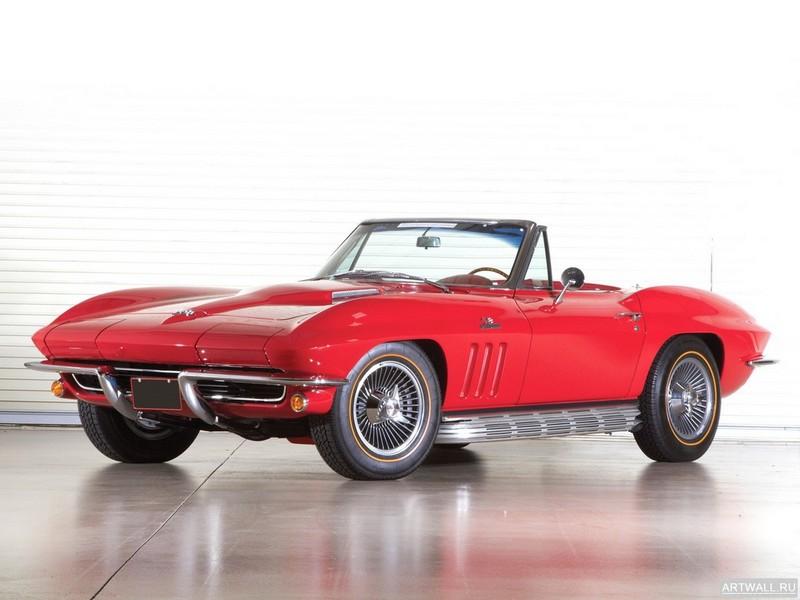 Постер Corvette Sting Ray 427 RPO L71 Convertible (C2) 1967, 27x20 см, на бумагеCorvette<br>Постер на холсте или бумаге. Любого нужного вам размера. В раме или без. Подвес в комплекте. Трехслойная надежная упаковка. Доставим в любую точку России. Вам осталось только повесить картину на стену!<br>
