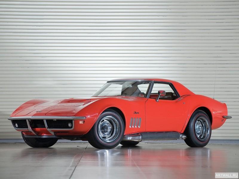 Постер Corvette Stingray Convertible (C3) 1974-75, 27x20 см, на бумагеCorvette<br>Постер на холсте или бумаге. Любого нужного вам размера. В раме или без. Подвес в комплекте. Трехслойная надежная упаковка. Доставим в любую точку России. Вам осталось только повесить картину на стену!<br>