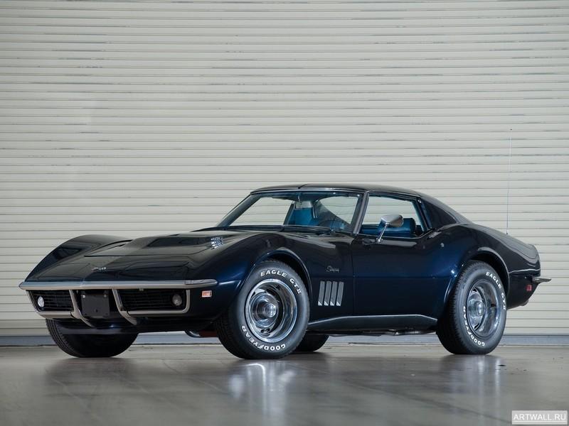 Постер Corvette Stingray L36 427 Convertible (C3) 1969, 27x20 см, на бумагеCorvette<br>Постер на холсте или бумаге. Любого нужного вам размера. В раме или без. Подвес в комплекте. Трехслойная надежная упаковка. Доставим в любую точку России. Вам осталось только повесить картину на стену!<br>