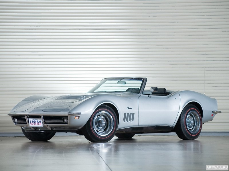 Постер Corvette Stingray L36 427 Coupe (C3) 1969, 27x20 см, на бумагеCorvette<br>Постер на холсте или бумаге. Любого нужного вам размера. В раме или без. Подвес в комплекте. Трехслойная надежная упаковка. Доставим в любую точку России. Вам осталось только повесить картину на стену!<br>