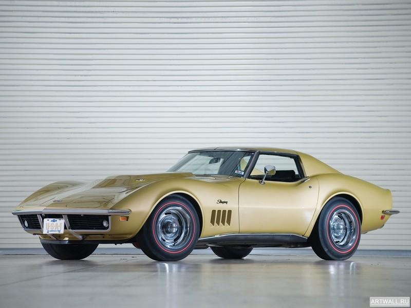 Постер Corvette Stingray L71 427 Convertible (C3) 1969, 27x20 см, на бумагеCorvette<br>Постер на холсте или бумаге. Любого нужного вам размера. В раме или без. Подвес в комплекте. Трехслойная надежная упаковка. Доставим в любую точку России. Вам осталось только повесить картину на стену!<br>