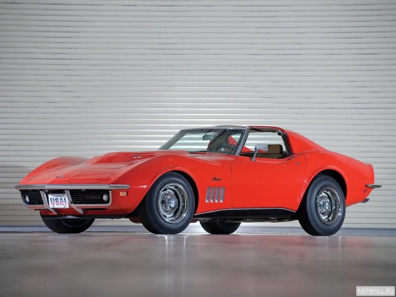 Corvette Stingray L88 427 Convertible (C3) 1969, 27x20 см, на бумагеCorvette<br>Постер на холсте или бумаге. Любого нужного вам размера. В раме или без. Подвес в комплекте. Трехслойная надежная упаковка. Доставим в любую точку России. Вам осталось только повесить картину на стену!<br>