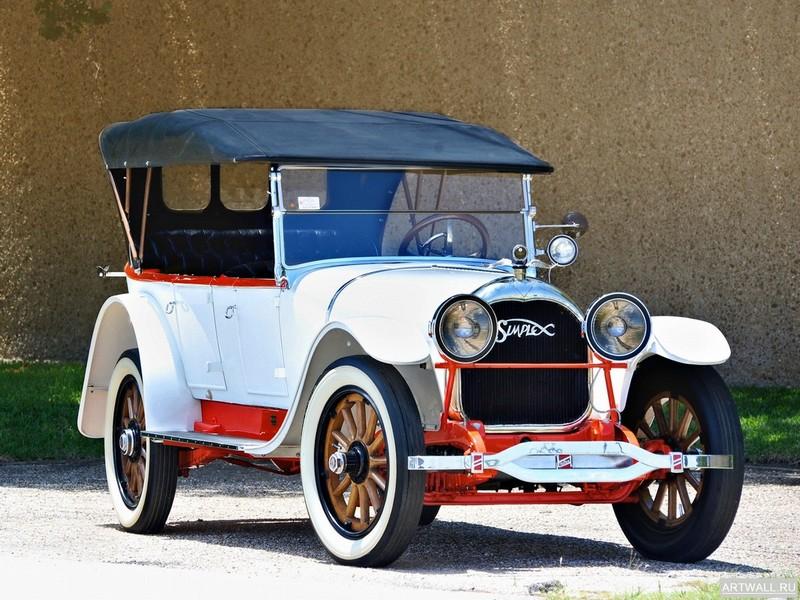 Постер Crane-Simplex Model 5 Touring by Brewster &amp; Co 1916, 27x20 см, на бумагеРазные марки<br>Постер на холсте или бумаге. Любого нужного вам размера. В раме или без. Подвес в комплекте. Трехслойная надежная упаковка. Доставим в любую точку России. Вам осталось только повесить картину на стену!<br>