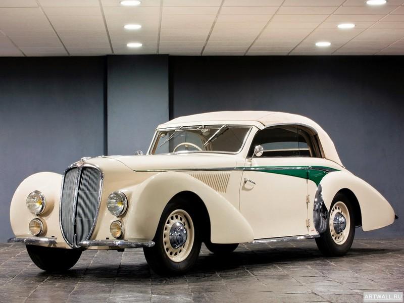 Постер Delage D8S Roadster by de Villars 1933, 27x20 см, на бумагеDelage<br>Постер на холсте или бумаге. Любого нужного вам размера. В раме или без. Подвес в комплекте. Трехслойная надежная упаковка. Доставим в любую точку России. Вам осталось только повесить картину на стену!<br>