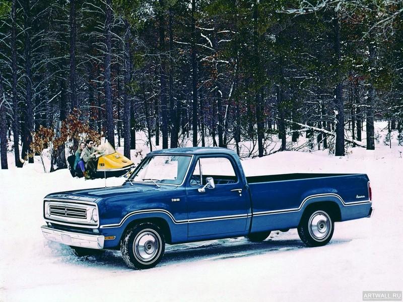 Постер Dodge Adventurer Pickup 1972, 27x20 см, на бумагеDodge<br>Постер на холсте или бумаге. Любого нужного вам размера. В раме или без. Подвес в комплекте. Трехслойная надежная упаковка. Доставим в любую точку России. Вам осталось только повесить картину на стену!<br>