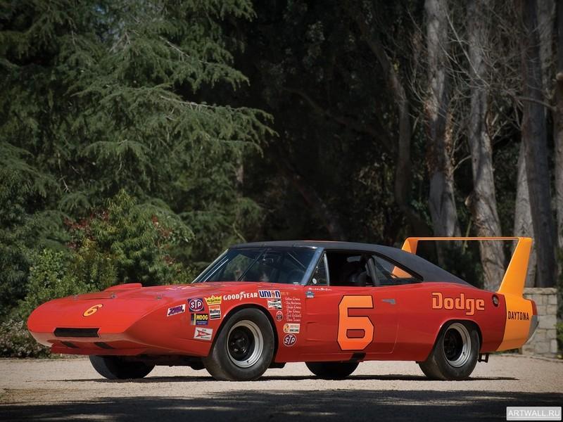 Постер Dodge Daytona NASCAR 1969, 27x20 см, на бумагеDodge<br>Постер на холсте или бумаге. Любого нужного вам размера. В раме или без. Подвес в комплекте. Трехслойная надежная упаковка. Доставим в любую точку России. Вам осталось только повесить картину на стену!<br>