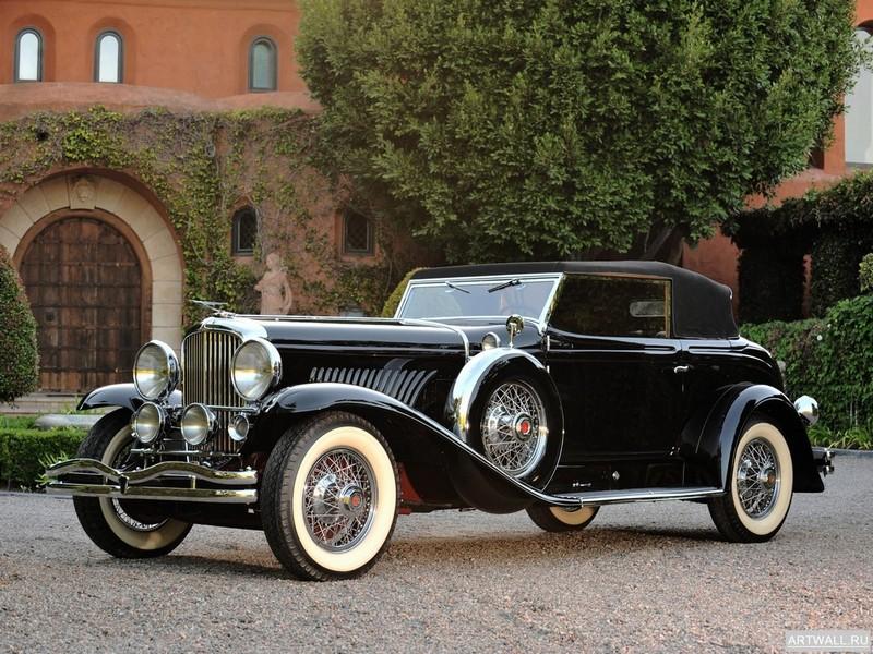 Постер Duesenberg J 395 Convertible Coupe by Murphy 1931, 27x20 см, на бумагеDuesenberg<br>Постер на холсте или бумаге. Любого нужного вам размера. В раме или без. Подвес в комплекте. Трехслойная надежная упаковка. Доставим в любую точку России. Вам осталось только повесить картину на стену!<br>