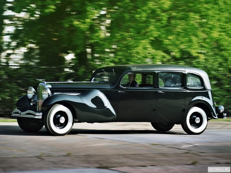 Постер Duesenberg J 587 2613 Throne Car Limousine by Bohman &amp; Schwartz 1937, 27x20 см, на бумагеDuesenberg<br>Постер на холсте или бумаге. Любого нужного вам размера. В раме или без. Подвес в комплекте. Трехслойная надежная упаковка. Доставим в любую точку России. Вам осталось только повесить картину на стену!<br>
