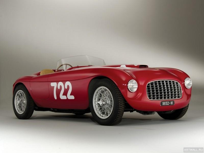 Постер Ferrari 166 Inter Spyder Corsa 1948, 27x20 см, на бумагеFerrari<br>Постер на холсте или бумаге. Любого нужного вам размера. В раме или без. Подвес в комплекте. Трехслойная надежная упаковка. Доставим в любую точку России. Вам осталось только повесить картину на стену!<br>