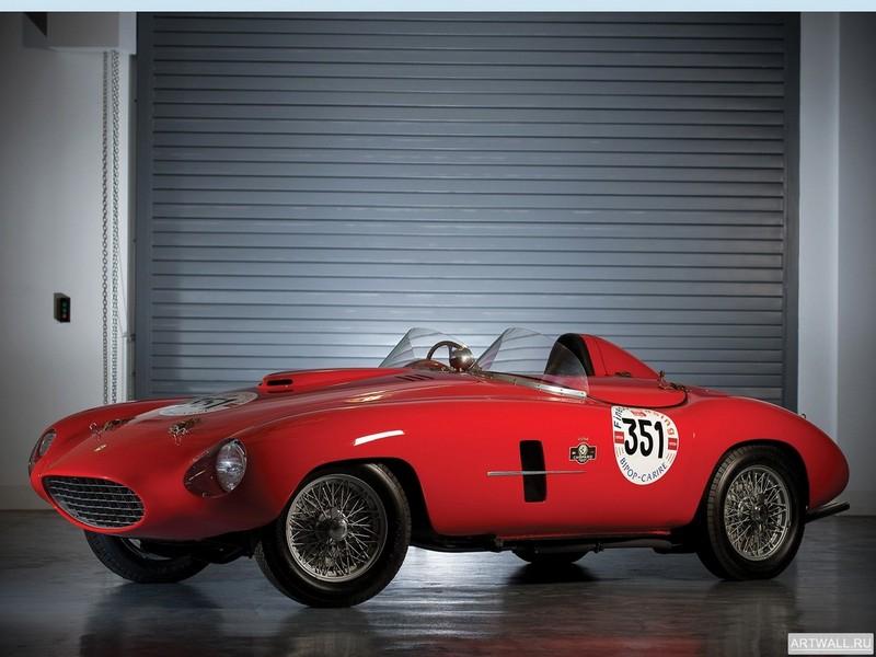 Постер Ferrari 166 MM Spider Scaglietti 1953, 27x20 см, на бумагеFerrari<br>Постер на холсте или бумаге. Любого нужного вам размера. В раме или без. Подвес в комплекте. Трехслойная надежная упаковка. Доставим в любую точку России. Вам осталось только повесить картину на стену!<br>