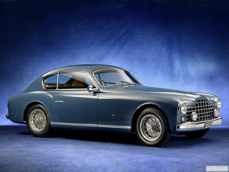 Постер Ferrari 195 Inter 1950-51 дизайн Ghia, 27x20 см, на бумагеFerrari<br>Постер на холсте или бумаге. Любого нужного вам размера. В раме или без. Подвес в комплекте. Трехслойная надежная упаковка. Доставим в любую точку России. Вам осталось только повесить картину на стену!<br>
