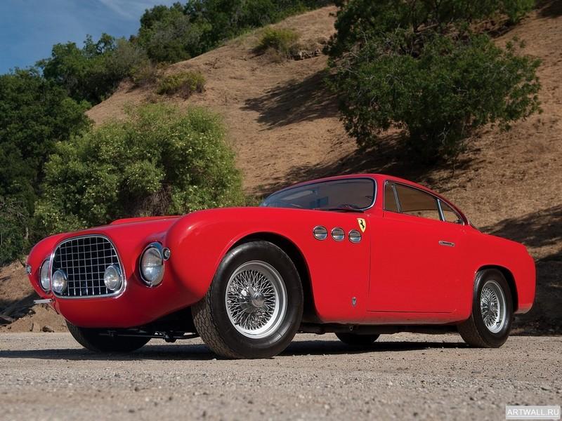 Постер Ferrari 212 Inter Geneva (#0289EU) 1953 дизайн Vignale, 27x20 см, на бумагеFerrari<br>Постер на холсте или бумаге. Любого нужного вам размера. В раме или без. Подвес в комплекте. Трехслойная надежная упаковка. Доставим в любую точку России. Вам осталось только повесить картину на стену!<br>