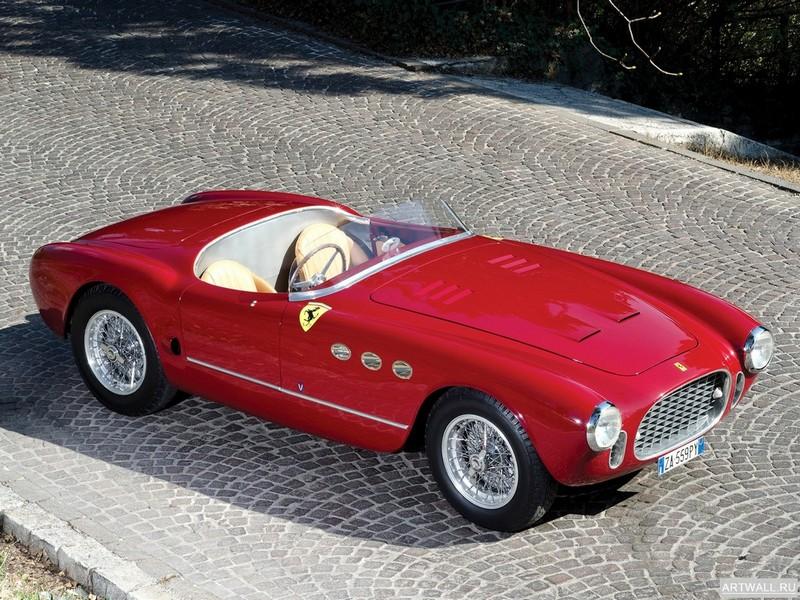 Постер Ferrari 225S Spyder 1952 дизайн Vignale, 27x20 см, на бумагеFerrari<br>Постер на холсте или бумаге. Любого нужного вам размера. В раме или без. Подвес в комплекте. Трехслойная надежная упаковка. Доставим в любую точку России. Вам осталось только повесить картину на стену!<br>