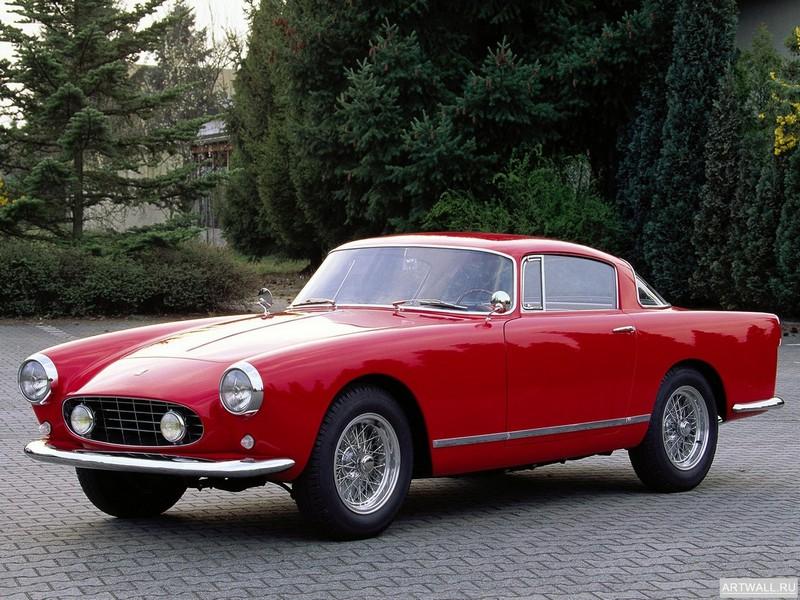 Постер Ferrari 250 GT Cabriolet (Serie II) 1959-62 дизайн Pininfarina, 27x20 см, на бумагеFerrari<br>Постер на холсте или бумаге. Любого нужного вам размера. В раме или без. Подвес в комплекте. Трехслойная надежная упаковка. Доставим в любую точку России. Вам осталось только повесить картину на стену!<br>