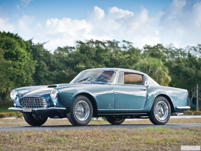 Постер Ferrari 250 GT E 2+2 1960-63, 27x20 см, на бумагеFerrari<br>Постер на холсте или бумаге. Любого нужного вам размера. В раме или без. Подвес в комплекте. Трехслойная надежная упаковка. Доставим в любую точку России. Вам осталось только повесить картину на стену!<br>