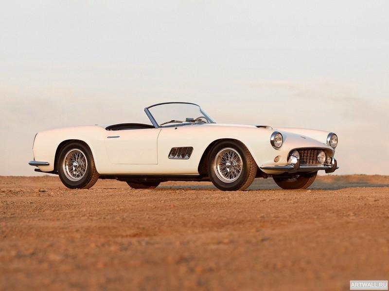 Постер Ferrari 250 GT SWB 1959-62, 27x20 см, на бумагеFerrari<br>Постер на холсте или бумаге. Любого нужного вам размера. В раме или без. Подвес в комплекте. Трехслойная надежная упаковка. Доставим в любую точку России. Вам осталось только повесить картину на стену!<br>