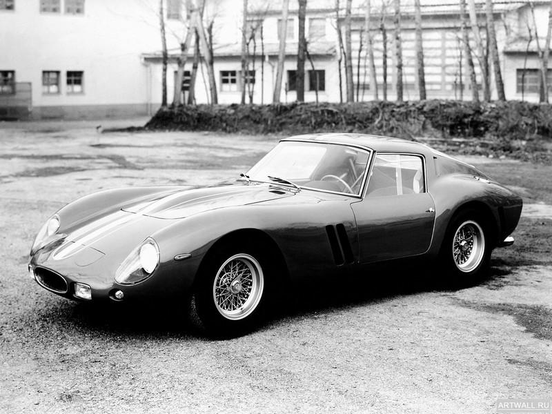 Постер Ferrari 250 GT SWB Bertone 1962 дизайн Bertone, 27x20 см, на бумагеFerrari<br>Постер на холсте или бумаге. Любого нужного вам размера. В раме или без. Подвес в комплекте. Трехслойная надежная упаковка. Доставим в любую точку России. Вам осталось только повесить картину на стену!<br>