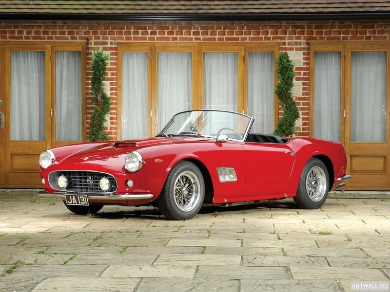 Постер Ferrari 250 GT-E 2+2 1960-63, 27x20 см, на бумагеFerrari<br>Постер на холсте или бумаге. Любого нужного вам размера. В раме или без. Подвес в комплекте. Трехслойная надежная упаковка. Доставим в любую точку России. Вам осталось только повесить картину на стену!<br>