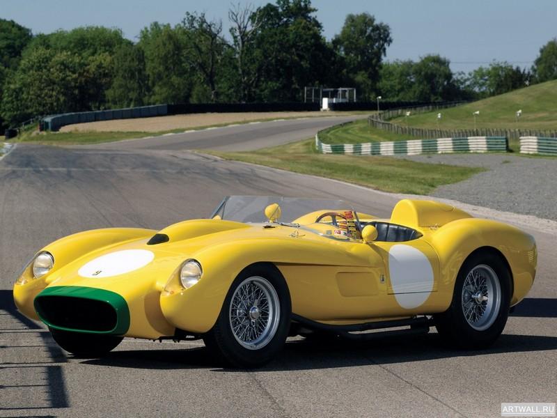 Постер Ferrari 250 Testa Rossa Scaglietti Spyder Pontoon Fender 1957-58, 27x20 см, на бумагеFerrari<br>Постер на холсте или бумаге. Любого нужного вам размера. В раме или без. Подвес в комплекте. Трехслойная надежная упаковка. Доставим в любую точку России. Вам осталось только повесить картину на стену!<br>
