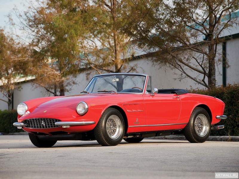 Постер Ferrari 330 GTC 1966-68, 27x20 см, на бумагеFerrari<br>Постер на холсте или бумаге. Любого нужного вам размера. В раме или без. Подвес в комплекте. Трехслойная надежная упаковка. Доставим в любую точку России. Вам осталось только повесить картину на стену!<br>
