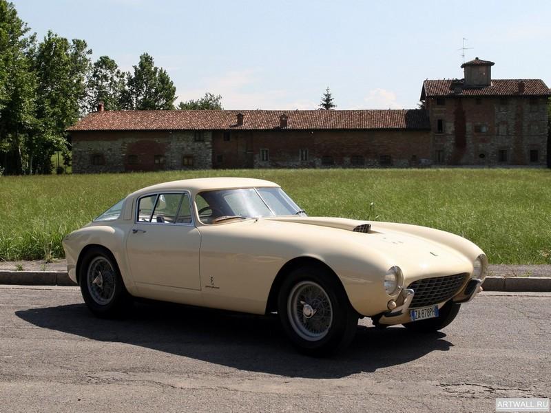 Ferrari 340 375 MM Pinin Farina Berlinetta 1953 дизайн Pininfarina, 27x20 см, на бумагеFerrari<br>Постер на холсте или бумаге. Любого нужного вам размера. В раме или без. Подвес в комплекте. Трехслойная надежная упаковка. Доставим в любую точку России. Вам осталось только повесить картину на стену!<br>