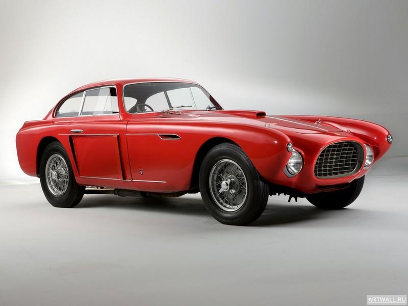 Постер Ferrari 340 Mexico Vignale Berlinetta 1952 дизайн Vignale, 27x20 см, на бумагеFerrari<br>Постер на холсте или бумаге. Любого нужного вам размера. В раме или без. Подвес в комплекте. Трехслойная надежная упаковка. Доставим в любую точку России. Вам осталось только повесить картину на стену!<br>