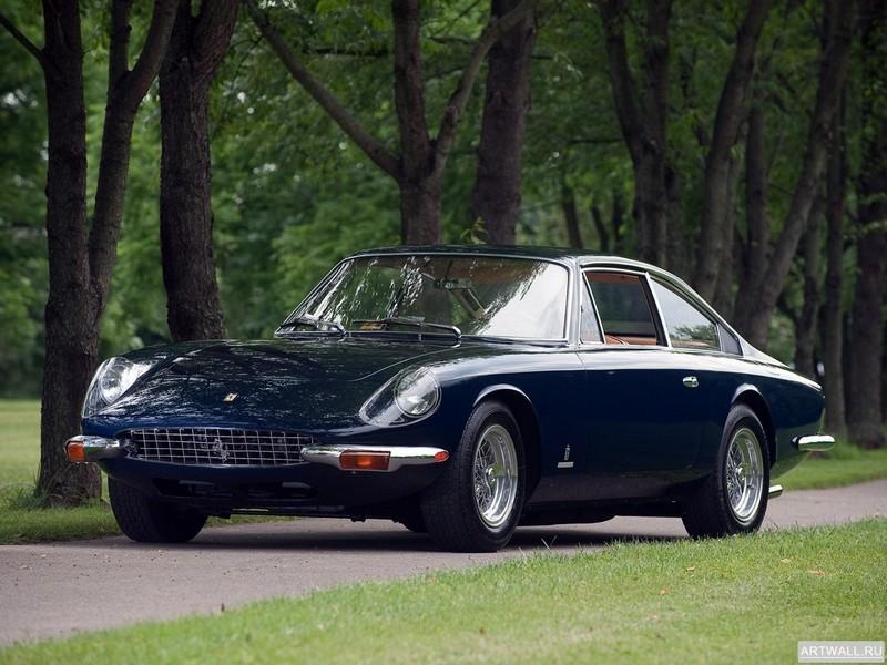 Постер Ferrari 365 GT 2+2 1968-70, 27x20 см, на бумагеFerrari<br>Постер на холсте или бумаге. Любого нужного вам размера. В раме или без. Подвес в комплекте. Трехслойная надежная упаковка. Доставим в любую точку России. Вам осталось только повесить картину на стену!<br>
