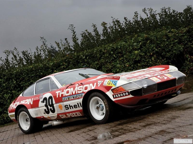 Постер Ferrari 365 GTB 4 Daytona Competizione (Series 3) 1973, 27x20 см, на бумагеFerrari<br>Постер на холсте или бумаге. Любого нужного вам размера. В раме или без. Подвес в комплекте. Трехслойная надежная упаковка. Доставим в любую точку России. Вам осталось только повесить картину на стену!<br>