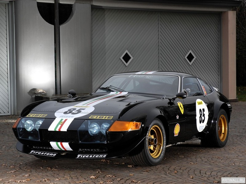 Постер Ferrari 365 GTB 4 Daytona Competizione, 27x20 см, на бумагеFerrari<br>Постер на холсте или бумаге. Любого нужного вам размера. В раме или без. Подвес в комплекте. Трехслойная надежная упаковка. Доставим в любую точку России. Вам осталось только повесить картину на стену!<br>