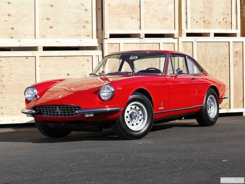 Постер Ferrari 365 GTC 1968-69 дизайн Pininfarina, 27x20 см, на бумагеFerrari<br>Постер на холсте или бумаге. Любого нужного вам размера. В раме или без. Подвес в комплекте. Трехслойная надежная упаковка. Доставим в любую точку России. Вам осталось только повесить картину на стену!<br>