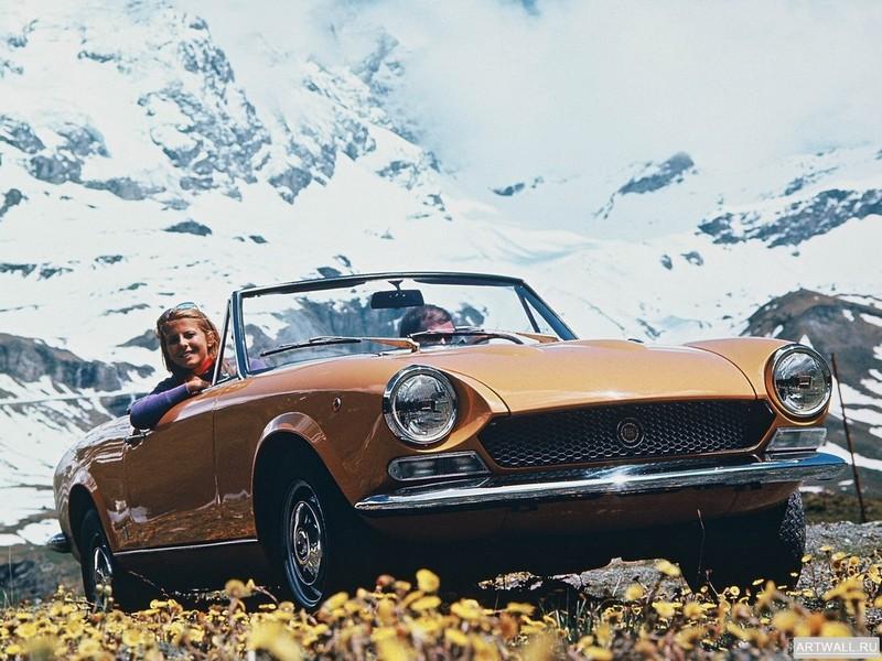 Постер Fiat 124 Sport Spider 1969-79, 27x20 см, на бумагеFiat<br>Постер на холсте или бумаге. Любого нужного вам размера. В раме или без. Подвес в комплекте. Трехслойная надежная упаковка. Доставим в любую точку России. Вам осталось только повесить картину на стену!<br>