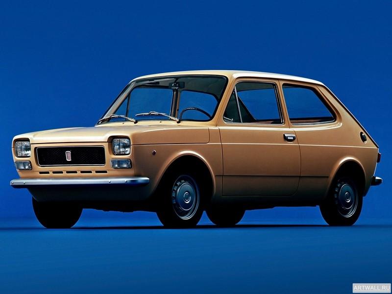 Постер Fiat 127 1971-77, 27x20 см, на бумагеFiat<br>Постер на холсте или бумаге. Любого нужного вам размера. В раме или без. Подвес в комплекте. Трехслойная надежная упаковка. Доставим в любую точку России. Вам осталось только повесить картину на стену!<br>