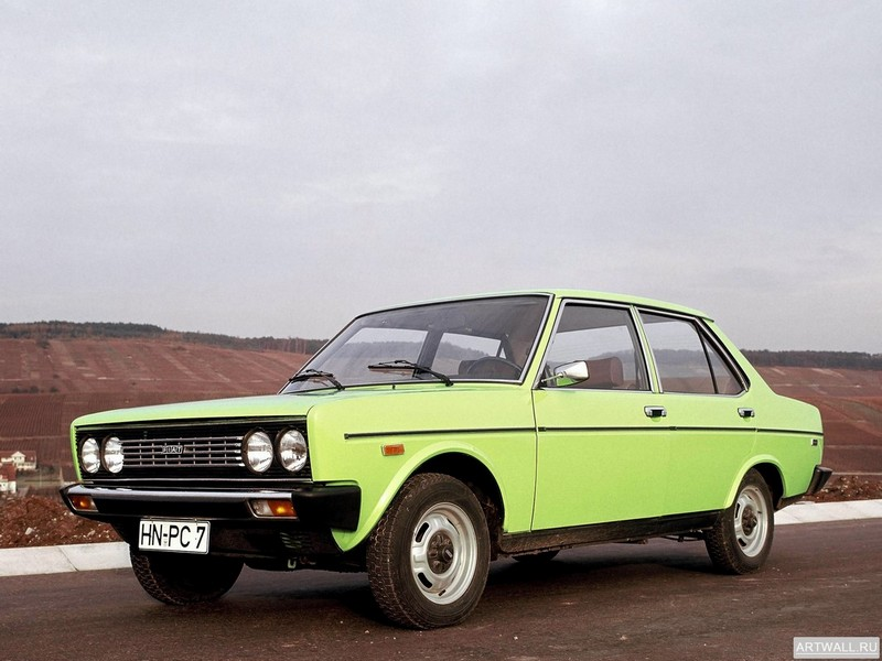 Постер Fiat 131 Mirafiori Special 1974-78, 27x20 см, на бумагеFiat<br>Постер на холсте или бумаге. Любого нужного вам размера. В раме или без. Подвес в комплекте. Трехслойная надежная упаковка. Доставим в любую точку России. Вам осталось только повесить картину на стену!<br>