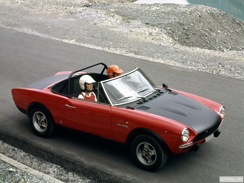 Постер Fiat Abarth 124 Rally 1972-75, 27x20 см, на бумагеFiat<br>Постер на холсте или бумаге. Любого нужного вам размера. В раме или без. Подвес в комплекте. Трехслойная надежная упаковка. Доставим в любую точку России. Вам осталось только повесить картину на стену!<br>