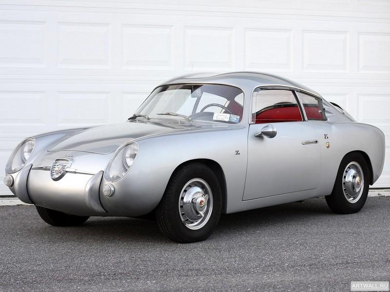 Постер Fiat Abarth 750 Coupe by Viotti 1956, 27x20 см, на бумагеFiat<br>Постер на холсте или бумаге. Любого нужного вам размера. В раме или без. Подвес в комплекте. Трехслойная надежная упаковка. Доставим в любую точку России. Вам осталось только повесить картину на стену!<br>
