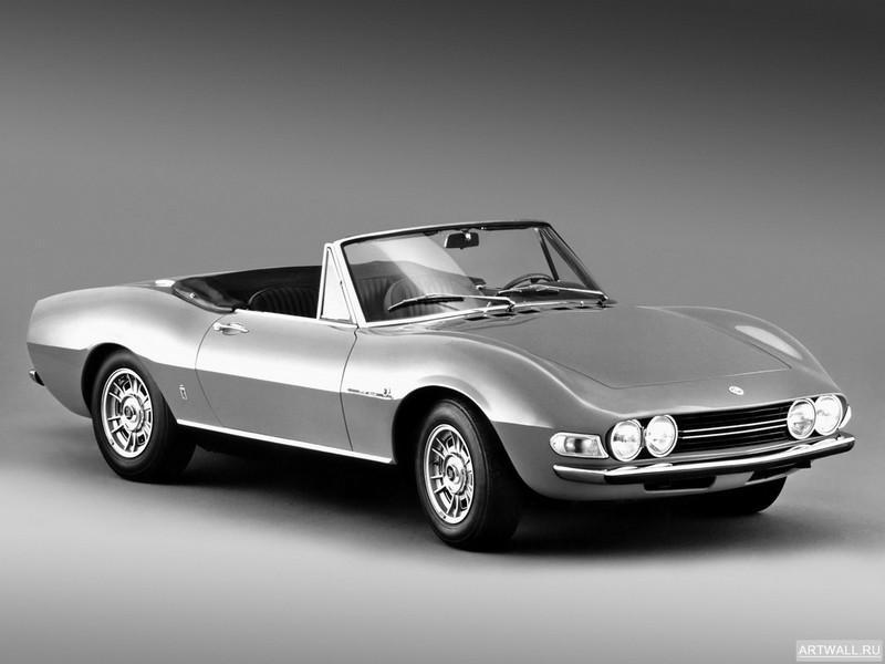 Постер Fiat Dino Spider 2400 1969-72, 27x20 см, на бумагеFiat<br>Постер на холсте или бумаге. Любого нужного вам размера. В раме или без. Подвес в комплекте. Трехслойная надежная упаковка. Доставим в любую точку России. Вам осталось только повесить картину на стену!<br>