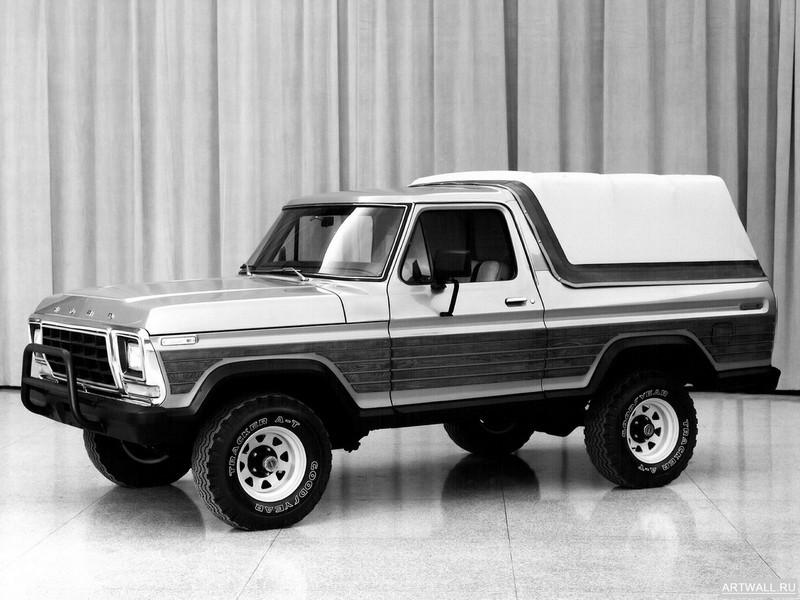 Постер Ford Bronco Concept 1979, 27x20 см, на бумагеFord<br>Постер на холсте или бумаге. Любого нужного вам размера. В раме или без. Подвес в комплекте. Трехслойная надежная упаковка. Доставим в любую точку России. Вам осталось только повесить картину на стену!<br>