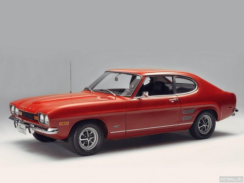 Постер Ford Capri (I) 1969-72, 27x20 см, на бумагеFord<br>Постер на холсте или бумаге. Любого нужного вам размера. В раме или без. Подвес в комплекте. Трехслойная надежная упаковка. Доставим в любую точку России. Вам осталось только повесить картину на стену!<br>