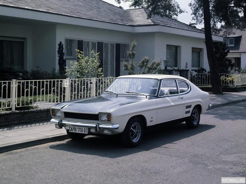Ford Capri (MkI) 1972-74, 27x20 см, на бумагеFord<br>Постер на холсте или бумаге. Любого нужного вам размера. В раме или без. Подвес в комплекте. Трехслойная надежная упаковка. Доставим в любую точку России. Вам осталось только повесить картину на стену!<br>