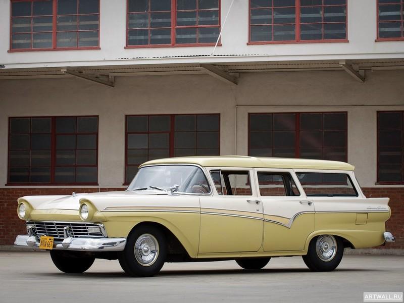 Постер Ford Country Sedan 1957, 27x20 см, на бумагеFord<br>Постер на холсте или бумаге. Любого нужного вам размера. В раме или без. Подвес в комплекте. Трехслойная надежная упаковка. Доставим в любую точку России. Вам осталось только повесить картину на стену!<br>