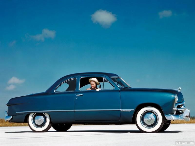 Постер Ford Custom Club Coupe (72) 1949, 27x20 см, на бумагеFord<br>Постер на холсте или бумаге. Любого нужного вам размера. В раме или без. Подвес в комплекте. Трехслойная надежная упаковка. Доставим в любую точку России. Вам осталось только повесить картину на стену!<br>