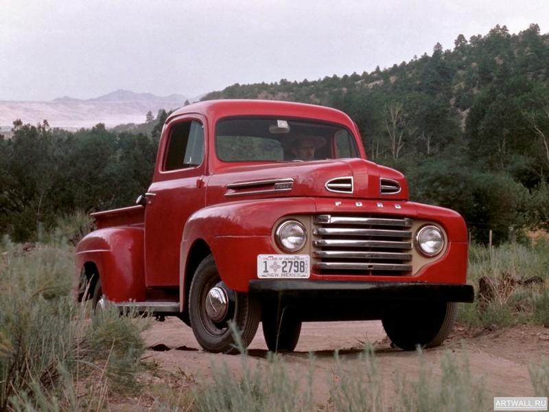 Постер Ford F-1 Pickup 1948-52, 27x20 см, на бумагеFord<br>Постер на холсте или бумаге. Любого нужного вам размера. В раме или без. Подвес в комплекте. Трехслойная надежная упаковка. Доставим в любую точку России. Вам осталось только повесить картину на стену!<br>