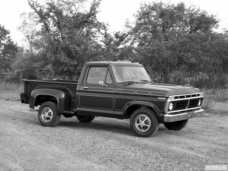 Постер Ford F-100 Custom 1977, 27x20 см, на бумагеFord<br>Постер на холсте или бумаге. Любого нужного вам размера. В раме или без. Подвес в комплекте. Трехслойная надежная упаковка. Доставим в любую точку России. Вам осталось только повесить картину на стену!<br>