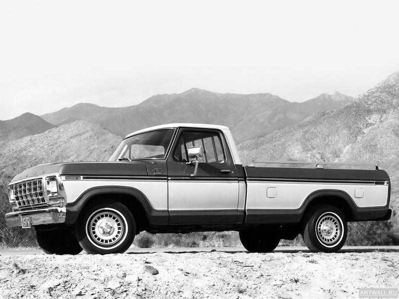 Ford F-150 Ranger Lariat 1979, 27x20 см, на бумагеFord<br>Постер на холсте или бумаге. Любого нужного вам размера. В раме или без. Подвес в комплекте. Трехслойная надежная упаковка. Доставим в любую точку России. Вам осталось только повесить картину на стену!<br>
