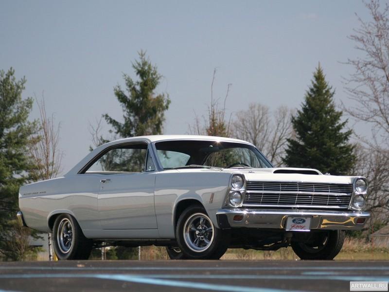 Постер Ford Fairlane 500GT 427 R-code 1966, 27x20 см, на бумагеFord<br>Постер на холсте или бумаге. Любого нужного вам размера. В раме или без. Подвес в комплекте. Трехслойная надежная упаковка. Доставим в любую точку России. Вам осталось только повесить картину на стену!<br>