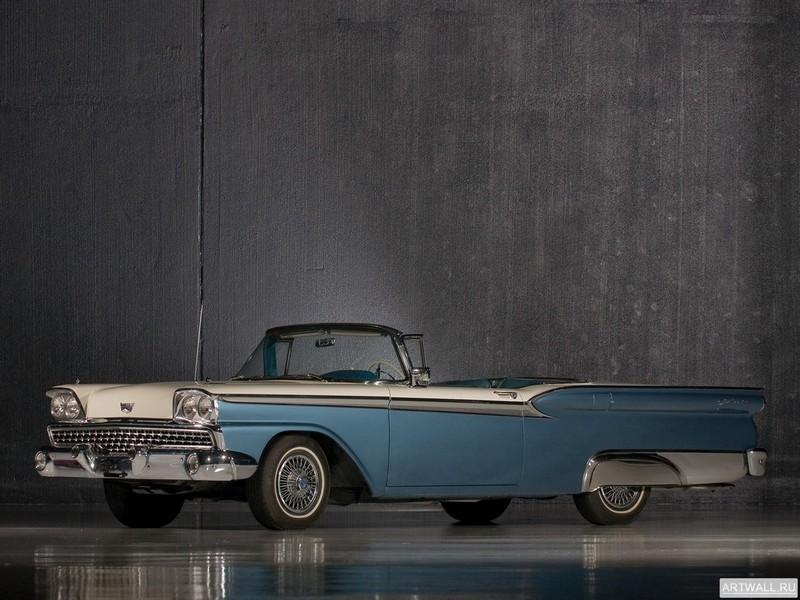 Постер Ford Galaxie Skyliner 1959, 27x20 см, на бумагеFord<br>Постер на холсте или бумаге. Любого нужного вам размера. В раме или без. Подвес в комплекте. Трехслойная надежная упаковка. Доставим в любую точку России. Вам осталось только повесить картину на стену!<br>