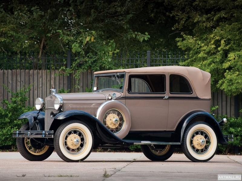 Постер Ford Model A Deluxe Delivery Van (130A) 1929, 27x20 см, на бумагеFord<br>Постер на холсте или бумаге. Любого нужного вам размера. В раме или без. Подвес в комплекте. Трехслойная надежная упаковка. Доставим в любую точку России. Вам осталось только повесить картину на стену!<br>