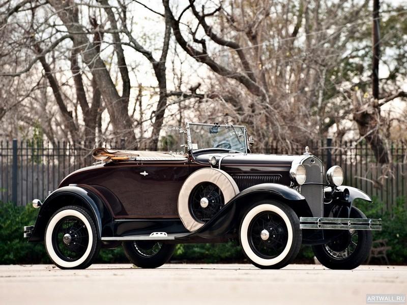 Постер Ford Model A Roadster Pickup 1927-31, 27x20 см, на бумагеFord<br>Постер на холсте или бумаге. Любого нужного вам размера. В раме или без. Подвес в комплекте. Трехслойная надежная упаковка. Доставим в любую точку России. Вам осталось только повесить картину на стену!<br>